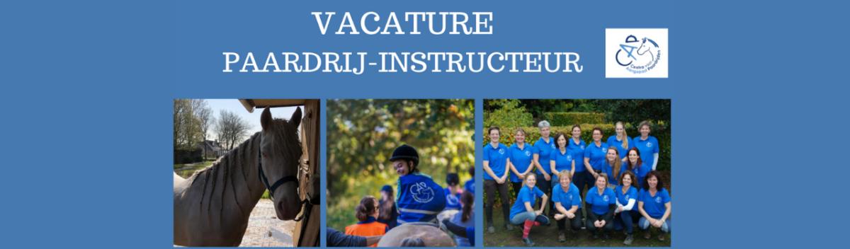Vacature paardrij instructeur Nijmegen